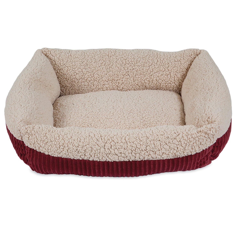 Self-warming dog bed