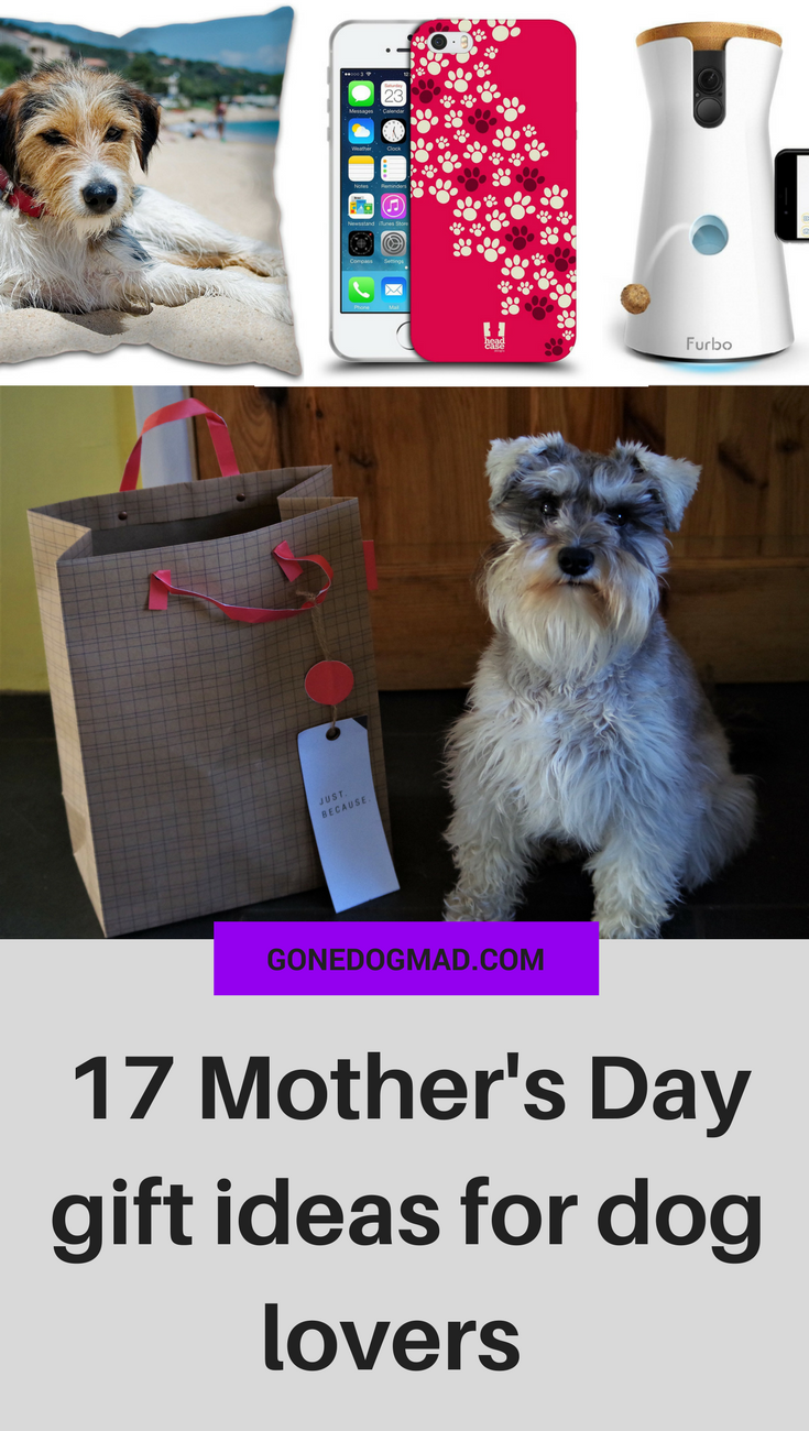 Treat the dog mum in your life this Mother's Day with these special gift ideas. The gifts your dog would give if only they could talk! #doglovers #dogmom #mothersday #mothersdaygift #mothersdayidea #doggifts #dogowners via @gonedogmad1